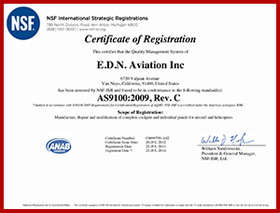 ISO AS9100 Certification EDN